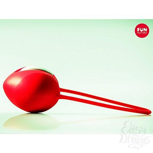 Фотография 2  Красный вагинальный шарик Smartballs Uno