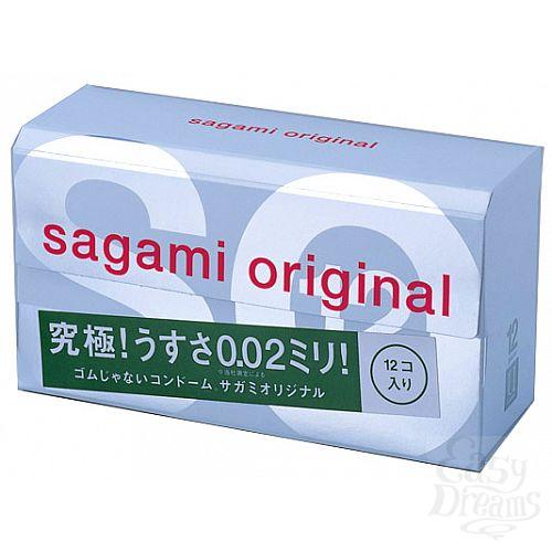 Фотография 1:  Презервативы Sagami Original 0.02 (12 шт.)