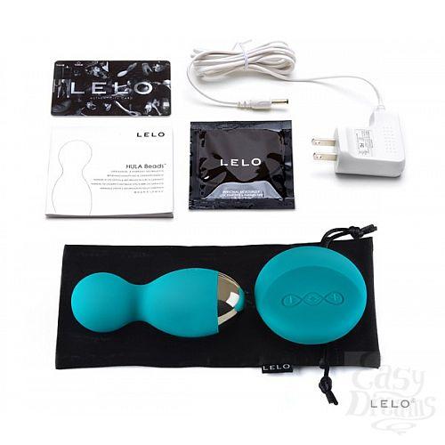 Фотография 3  Вагинальные шарики Hula Beads Ocean Blue с ДУ