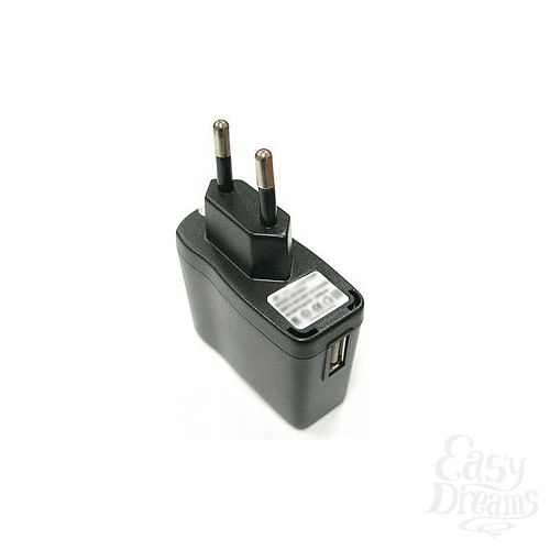 Фотография 2  Адаптер СЗУ c USB разъмом( для вибромассажеров)
