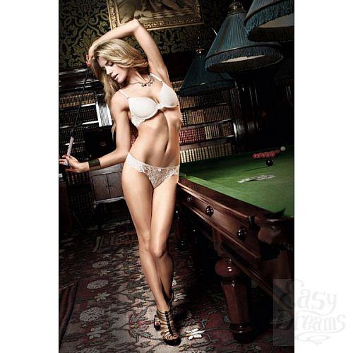Фотография 1:  Бюстгальтер Agent Of Love цвета слоновой кости с кружевными элементами и мягкими чашечками
