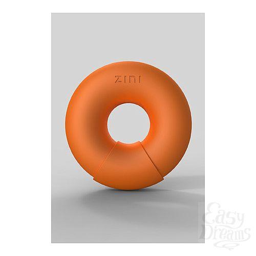 Фотография 3  Универсальный вибромассажер DONUT ORANGE оранжевый